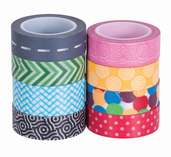 Washi Tape Assorted - Pack of 8