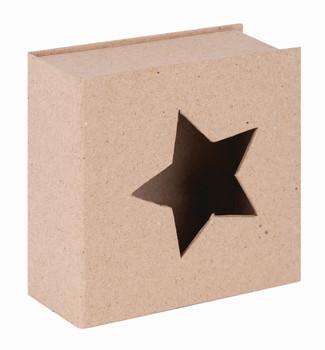 Papier Mache Cut-Out Star Box
