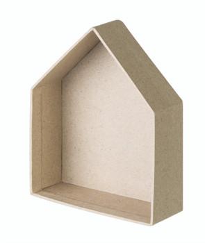 Papier Mache House - Pack of 12