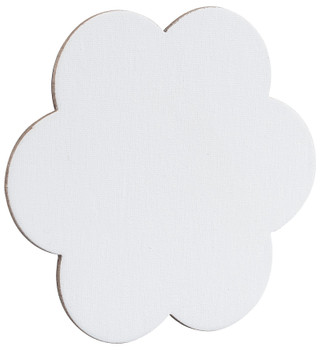 Magnetic Canvas Board - Flower (Pack of 4)