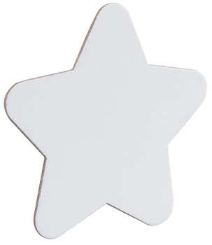 Magnetic Canvas Board - Star (Pack of 4)