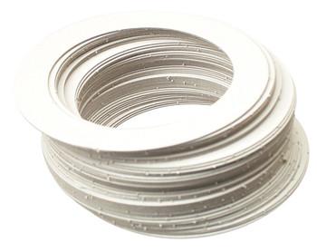 Cardboard Ring & Circle - Pack of 50
