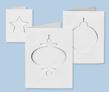 Cards & Envelopes Christmas Cut-Outs - Pack of 30
