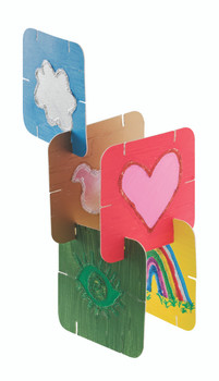 Cardboard Construction Cards - Pack of 30