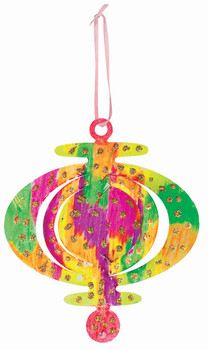 Cardboard Hanging Ornaments - Pack of 40