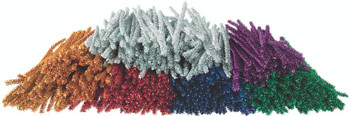 Tinsel Chenille Stems - 15cm (Pack of 500)