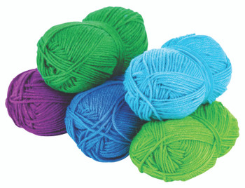 Acrylic Wool Assorted - Cool (Pack of 5)