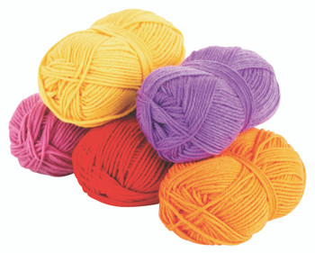 Acrylic Wool Assorted - Warm (Pack of 5)