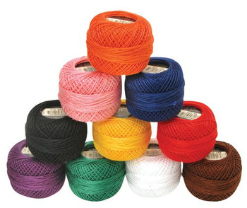 Perle Cotton #8 - Pack of 10