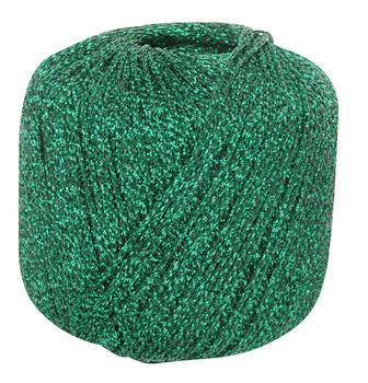 Metallic Yarn - Emerald 20g