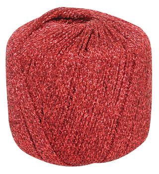 Metallic Yarn - Red 20g