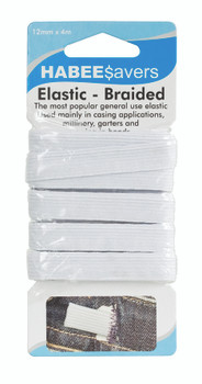 Elastic - 12mm x 4m