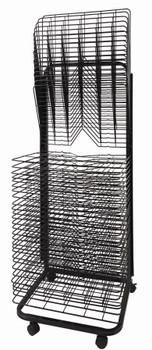 Art Drying Rack - Spring Loaded (45 Shelves)