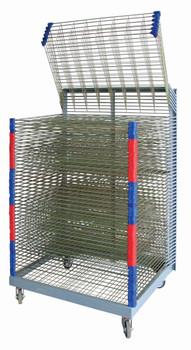 Art Drying Rack - Spring Loaded (50 Shelves)