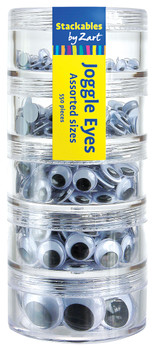 Joggle Eyes - Assorted Sizes (Pack of 550)