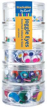 Joggle Eyes Coloured - Assorted (Pack of 450)