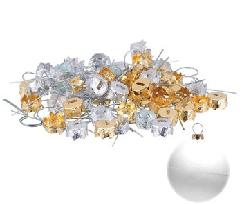 Ornament Cap with Wire - Pack of 60