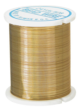 Beading Wire - Gold (22m)