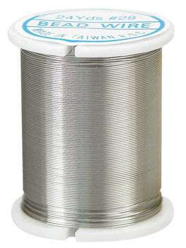 Beading Wire - Silver (22m)
