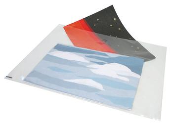 Clear Plastic Folio Bag