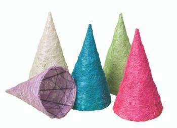 Fibre Cones - Pack of 10