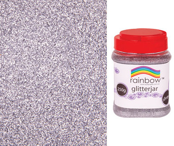 Glitter - Silver (250g)
