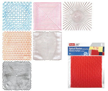 Rubbing Plates - Optical (Pack of 6)