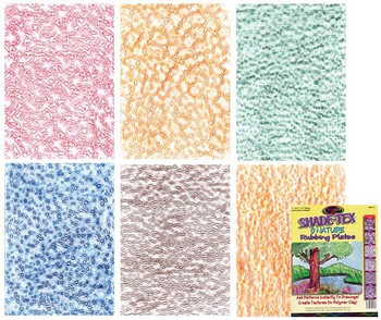 Rubbing Plates - Nature (Pack of 6)