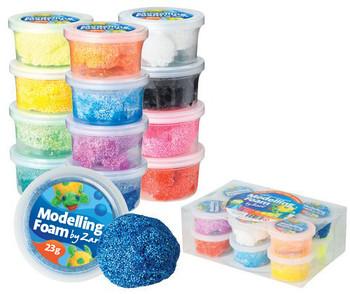 Modelling Foam - Assorted (Pack of 12)