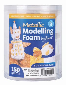 Modelling Foam - Metallic (150g)