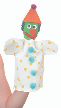Calico Hand Puppet - Pack of 10