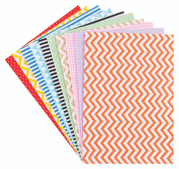 Cotton Fabric - Pattern A3 (Pack of 10)