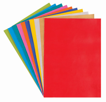 Vinyl A4 - Assorted (Pack of 10)