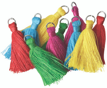 Tassels 40mm - Assorted (Pack of 50)