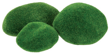 Textured Mossy Stones - Pack of 8