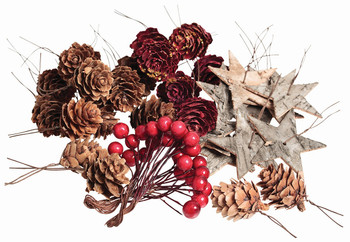 Wreath Decorations - Pack of 44