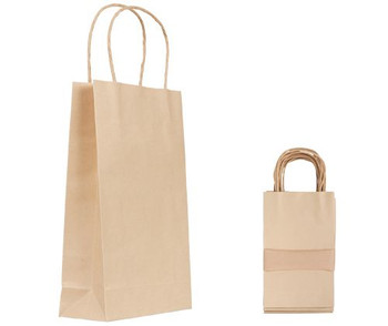 Paper Bag with Handle - 26 x 16cm (Pack of 10)