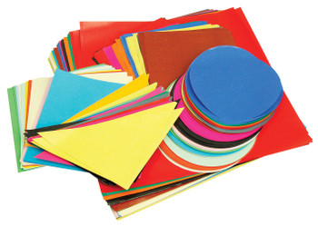 Classroom Paper Shapes - Pack of 400