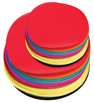 Paper Circles - 12cm & 18cm (Pack of 500)