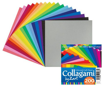 Collagami Craft Paper - Pack of 200