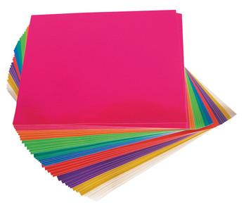 Adhesive Paper Squares - Metallic (Pack of 100)