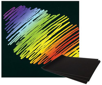 Scratch Rainbow Card A4 - Pack of 12