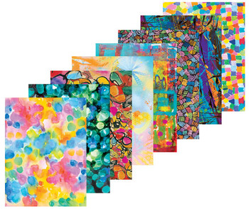 Pattern Paper A4 - Arty (Pack of 40)