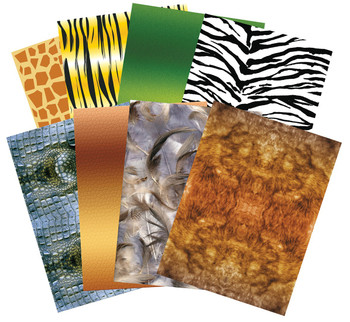 Pattern Paper A4 - Animal (Pack of 40)