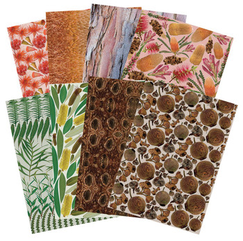 Pattern Paper A4 - Plant (Pack of 40)