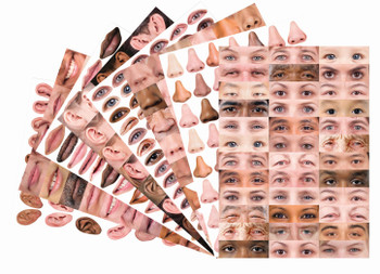 Pattern Paper A3 - Faces (Pack of 40)