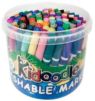 Kidoodle Washable Markers - Tub of 96