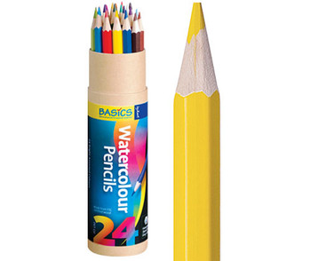 Watercolour Pencils - Pack of 24