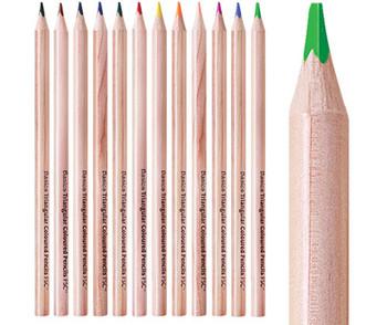 Triangular Colour Pencils - Pack of 288