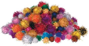 Pom Poms - Glitter (Pack of 200)